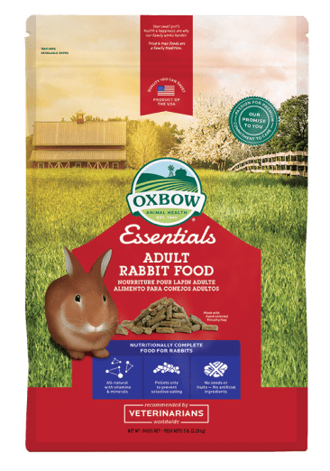 Rongeurs-Oxbow Nourriture lapin Adulte