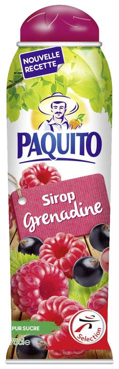 Sirop Grenadine Paquito 750ml